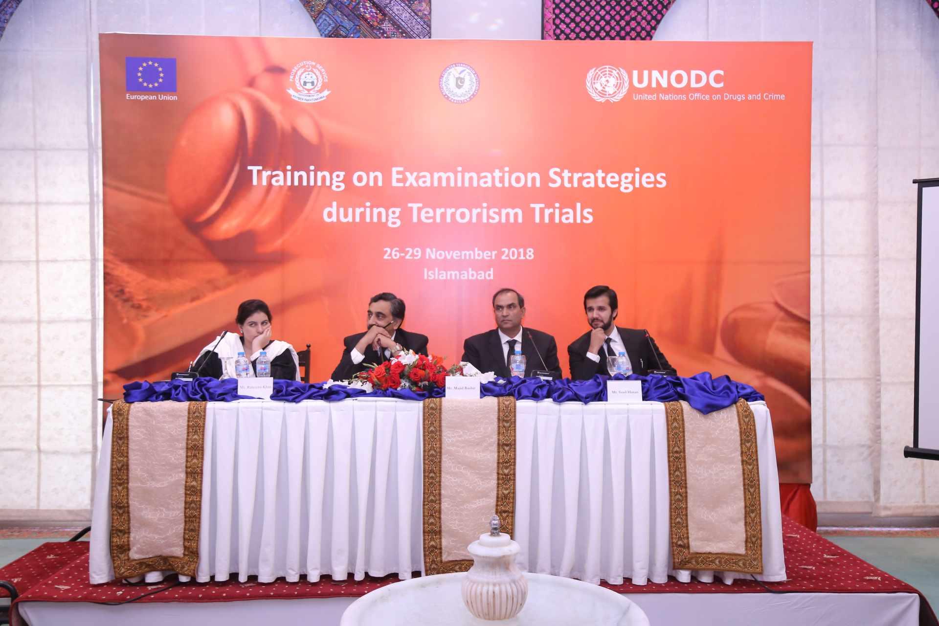 Examination Strategies During Terrorism Trials - November