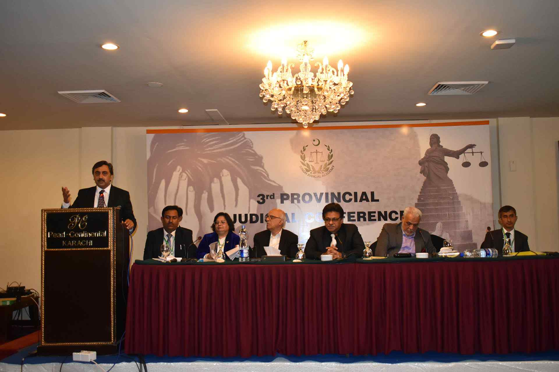 3rd Sindh Judicial Conference - Karachi - Research Society